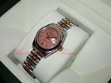 Rolex Datejust Two-Tone Rose Gold & Stainless Steel Jubilee Bracelet 179161