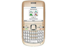 nokia C Series C3-00 - WHITE (Unlocked) Cellular Phone WiFi