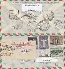 1964 (2dicembre) viaggio di Paolo VI In India Serie completa Viaggiata 02-12-64