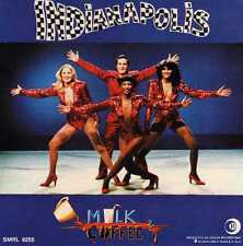 MILK & COFFEE - INDIANAPOLIS -adesivo pubblicitario NUOVO 1979