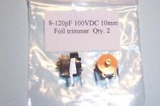 8-120 pF trimmer capacitors Sprague  2pcs. NEW Other values stocked