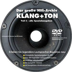 Das große Hifi-Archiv KLANG+TON - Teil 3: Alle 6 Spezialausgaben