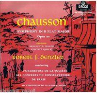 Chausson Symphony Op.20 / Robert F.Denzler - LP Decca LXT 5244
