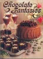 Chocolate Fantasies Cookbook 1987 Cappuccino Rum Cake Truffles Mint Snaps Mousse
