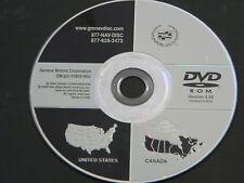 GM CADILLAC  NAVIGATION DVD US CANADA  OEM 15924195U  version 3.00