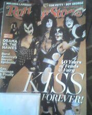 Kiss Rolling Stone Magazine April 10, 2014 #1206 Gene Simmons Paul Stanley