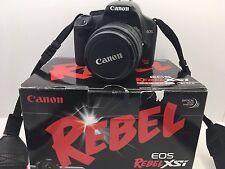 Canon EOS Digital Rebel XSi 12.2MP Digital SLR Camera Kit w/ EFS 18-55mm Lens