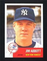 2016 Topps Archives #27 Jim Abbott - NM-MT