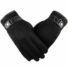 Ladies Leather Gloves Women Soft Fleece Lined Winter Driving Warm Touch Screen