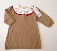 NWT Gymboree Glamour Kitty 6-12 Months Kitten Sweater Dress