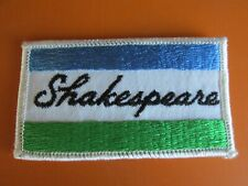 New listing Shakespeare Bass Fishing Lure Tackle iron on Patch