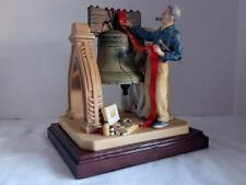 Norman Rockwell Celebration Figurine 1982