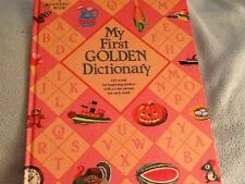 MY FIRST GOLDEN DICTIONARY hardcover