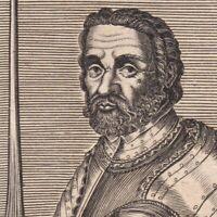 Portrait XVIIe Pierre Terrail De Bayard Guerres D- Italie bataille d'Agnadel
