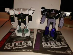 Prowl & Barricade Transformers Siege War For Cybertron (no heads & no parts)