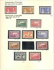 MONTSERRAT 1937-51 KGVI MINT COLLECTION CT £350 (46)
