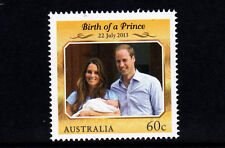2013 Birth of Prince George Alexander Louis of Cambridge MUH 60c Stamp