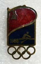 1988 Seoul Olympic Games Russian Rowing Team Official Badge Pin Russia Olympiad