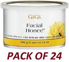 GIGI FACIAL HONEE WAX 14 OZ (24 PACK)