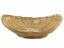 Ellipse Wicker Rattan Basket handmade Bamboo basket Wooden furniture Reed Supply