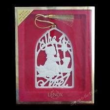 Lenox China The First Noel Hymns Songs of Christmas Tree Holiday Ornament Mib