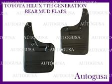 NEW REAR TOYOTA HILUX 4WD 05-14 OEM FITMENT MUD FLAPS SPLASH MUD GUARDS