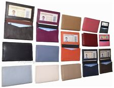 Leather Business card case, Credit card, Expanding Card Case,  up to 50 cards BN