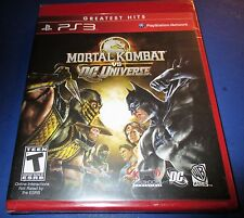 Mortal Kombat Vs DC Universe Playstation 3 - PS3 - Factory Sealed! - Free Ship!
