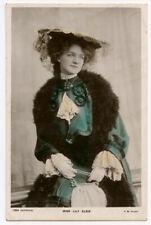 c 1905 Edwardian actress LILY ELSIE British photo postcard