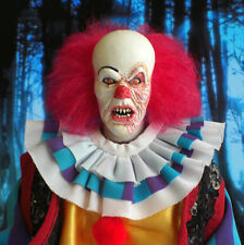 PENNYWISE CLOWN 1/6 custom figure STEPHEN KING IT DVD CD hot toys balloons doll