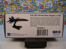 BLUE ANGELS MODERN ERA FA18C HORNET DARON 1:150 SCALE DIECAST DISPLAY MODEL