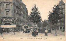 CPA - PARIS - Perspective du Boulevard Raspail