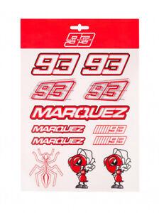 Official Marc Marquez Large Sticker Set - 20 53019