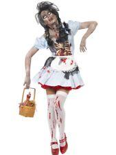 Horror Zombie Countrygirl Costume Smiffys Fancy Dress Costume