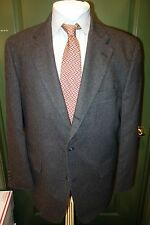 J. Press Dark Charcoal Gray Wool 3 BTN Sport Coat 42R USA