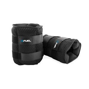Fuel Pureformance Adjustable Snug Fit Wrist/Ankle Weights 5, 10, 20 lbs Pair