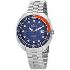 Bulova Oceanographer Automatic Blue Dial Men's Watch 96B321