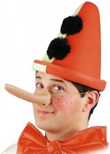 Naso Lungo ideale per Pinocchio Adulto Bambino Carnevale Halloween teatro Nuovo