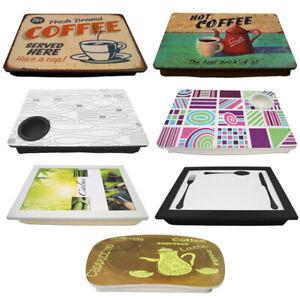 Knietablett mit Kissen Kissentablett Laptop Frühstück Tablett