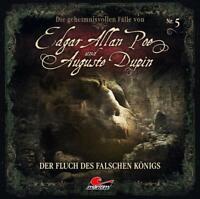EDGAR ALLAN POE - DIE GEHEIMNISVOLLEN FÄLLE UND DER FLUCH.. CD NEW