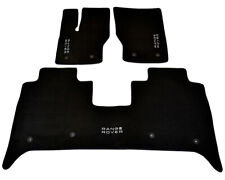 Floor Mats For Land Rover Range Rover Autobiography 2014 Black Carpets LHD NEW