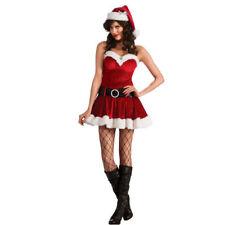 Suzanjas Weihnachtskostüm incl. Mütze und Gürtel S-L Dessous Kleid Weihnachten
