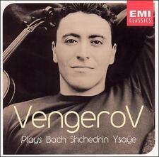 Maxim Vengerov Plays Bach, Schedrin, Ysa˜e (CD, Oct-2002, EMI (cd9109)