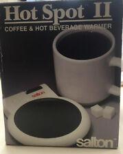 Salton Hot Spot II Coffee & Hot Beverage Warmer with White Stoneware Mug
