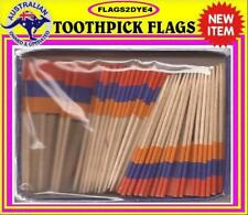 Armenia flag Armenian flag toothpicks for cooking cupcakes cocktails & party