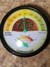Used Zilla Reptile Terrarium Thermometer & Humidity Gauge