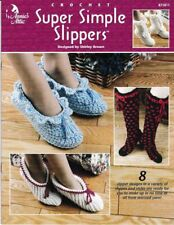 Crochet Pattern Super Simple Slippers 8 Fun Designs