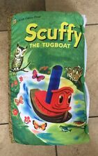 A Little Golden Book Scuffy the Tugboat : Extra Large Plush Cloth Book Pillow
