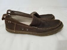 Kickers | Men's Brown Leather Slip On Casual Shoes Sz 42