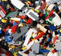 LEGO 600+ Pieces - 1Kg (1000g) Mixed Bricks Plates Parts - Bulk Job Lot Set